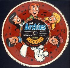 Records on the back of cereal boxes! I had Archies records, Jackson 5 records!