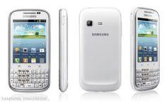 Sta arrivando! Non sappiamo sinceramente ne dove ne quando, ma sappiamo che Samsung ha lanciato il nuovissimo Chat B5330! Cosa ha di speciale? La tastiera qwerty, che a noi donne piace tanto, e il nostro amatissimo Android, nella versione ICS 4.0.