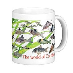 コリドラスのマグカップ:フォトマグ(世界の熱帯魚シリーズ)
