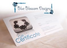 Artiflax - contest - 2nd Place Prize Pack  $80 gift certificate from Blue Blossom Designs