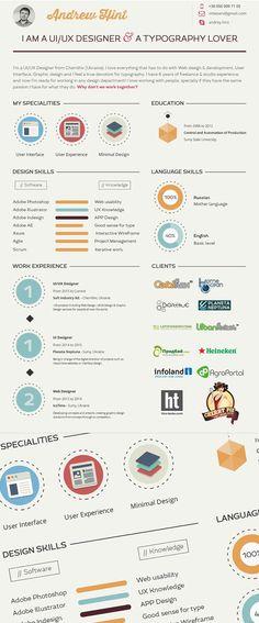 curriculo Infográficos Pinterest - industrial maintenance worker resume sample