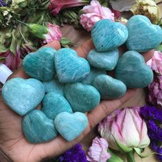 "125 Me gusta, 3 comentarios - Chakra Zulu Crystals (@chakrazulucrystals) en Instagram: ""New batch of Mini Amazonite Hearts are back in the shop! . Amazoniteis a stone linked to the…"""