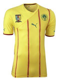 Cameroon (Fédération Camerounaise de Football) - 2010 World Cup Puma Away Shirt