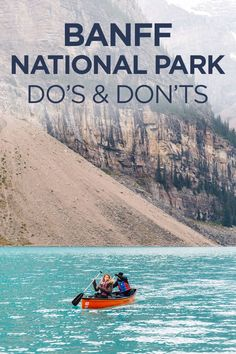 Do's and Don'ts When Visiting Banff in September - Travel Pockets - The sunrises are gorgeous and you will practically have the place to yourself. It's also pretty much guaranteed you'll get a parking spot (they are very limited in Banff) - Banff National Park Canada, Banff Canada, Alberta Canada, Jasper National Park, Lake Moraine Canada, Yoho National Park, Banff Alberta, Moraine Lake, Us National Parks
