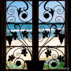View Through A Window, Adamson House, Malibu, California Malibu Beaches, House Sitting, Pacific Ocean, Shed, California, Tours, Windows, Explore, Places