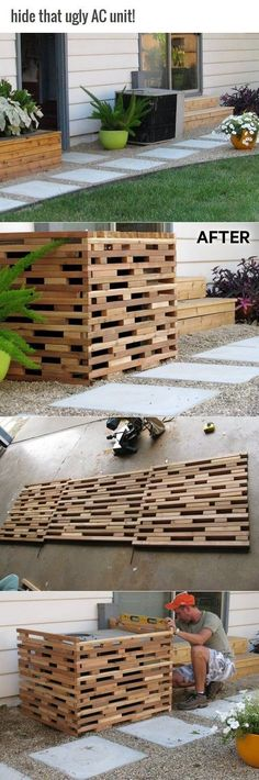 25 Space-Saving Outdoor Eyesore Hiding Ideas that will Help You Keep Everything Organized