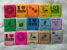 Geocaching Swag - Matchbook Notepads