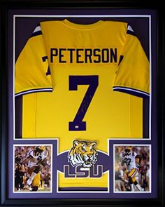 Patrick Peterson Framed Jersey Signed GTSM Authentication LSU Tigers Arizona Cardinals Mister Mancave http://www.amazon.com/dp/B00V68XK16/ref=cm_sw_r_pi_dp_Sk.rwb076AC4W