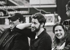 The Office wrap party (May 4, 2013) John Krasinski, Jenna Fischer, Brian Baumgartner