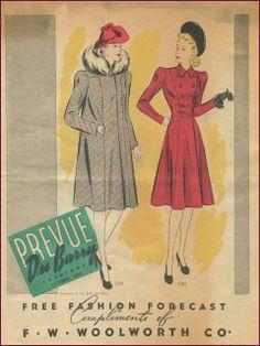 Dubarry Patterns Oct 1940 | New Vintage Lady
