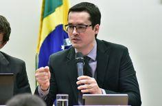 Procurador da República, Deltan Dallagnol, fala na Comissão Especial da Câmara…