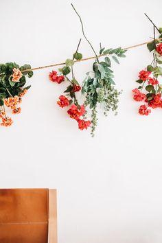 hanging flowers | pinterest: haleyivers