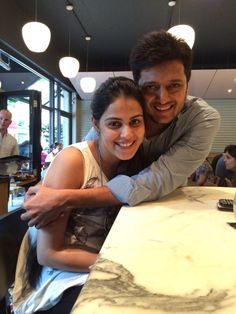 """Celeb: """"I am too much in Love with Genelia."""" - Riteish When is Life more Beautiful? Getting Married Becoming a Parent Genelia D'souza, Beautiful Goddess, Indian Celebrities, Bollywood Stars, South Indian Actress, Wedding Poses, Deepika Padukone, Best Couple, Celebrity Couples"""