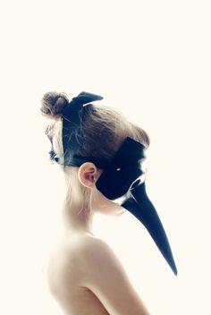 Bird Girl Framed Art Print by Mandy Bryant