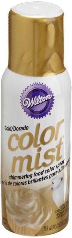 Amazon.com: Wilton Gold Color Mist: Dessert Decorating Dusting Powders: Kitchen & Dining