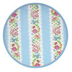 Greengate plate Ivy Blue € 6.50