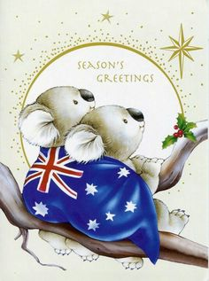 "A Merry and Blessed ""Aussie"" Christmas to you from across the ocean!"