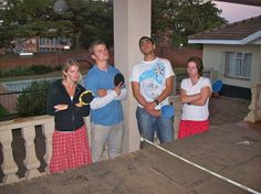 Ping Pong can be a relaxing (or intense!) way to wind down a long day in the field