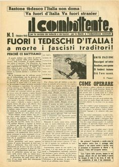 Old Poster, Newspaper Front Pages, Scientific Journal, Italian Posters, Vintage Posters, History, Curiosity, Hygge, Products