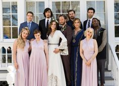 Here's Your First Full-Length Look At Marnie's Wedding Dress On Girls Season 5 : Elle