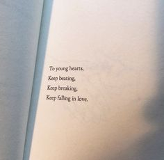 Keep beating