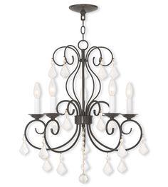 Donatella Ceiling Lighting - English Bronze / indoor / 5 / 50765-92