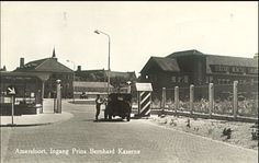 Amersfoort, ingang Berhard kazerne
