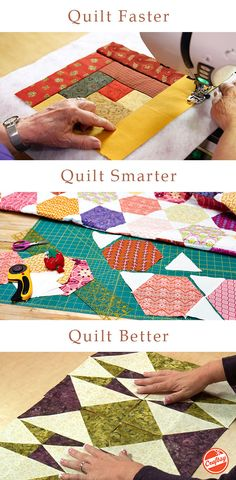 Who says beginner quilts can't be beautiful? Try one of these expert-led online quilting videos and make the quilt you've always wanted. Their yours to watch anytime, anywhere, forever.