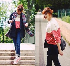 from one sheepish girl blog. I love the outfit fit for chilly summer in PL