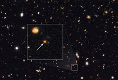 First Glimpse of a Young Galactic Core Forming in the Early Universe