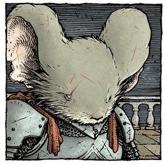 David Petersen's Blog: Mouse Guard Character Portrait