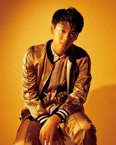 Ryoma Takeuchi wearing a Marc Jacobs Spring '17 jacket for Nylon Japan