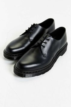 Dr. Martens 1461 3-Eye Gibson Monochromatic Shoe - Urban Outfitters
