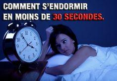 Voici une méthode pour s'endormir en moins de 30 secondes!