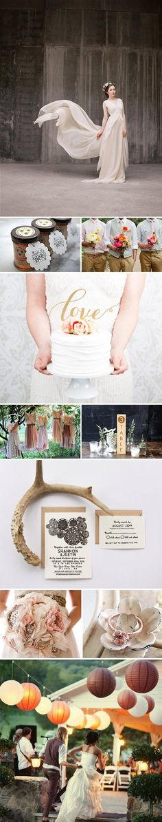 From farm-fresh favors to the most romantic dresses, rustic wedding ideas abound on Etsy; browse them on the dedicated shopping page here. #etsyweddings