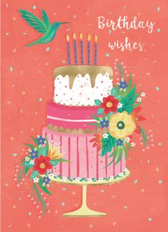 Leading Illustration & Publishing Agency based in London, New York & Marbella. Birthday Wishes And Images, Happy Birthday Quotes, Happy Birthday Greetings, Birthday Messages, Birthday Pictures, It's Your Birthday, Birthday Blessings, Happy B Day, 1st Christmas