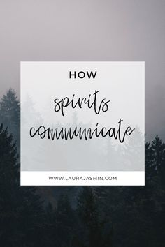 Ghosts and spirits like to help you by sending you messages that can help guide you. You are never alone and spirt is always communicating with you.