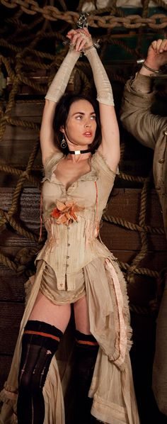 Megan Fox demonstrates why pirates sailed far and wide in search of booty.