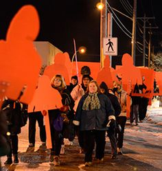 Some of the February 14, 2014 memorial events for Missing and Murdered Women || UFCW Canada - Canada's Largest Private Sector Union