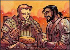 PSCs - Dragon Age: Origins' Alistair & Duncan Commission info