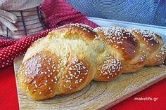 Greek Sweets, Sweet Recipes, Pancakes, Bread, Food, Baby, Brot, Essen, Pancake