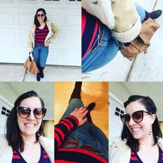 A day of wellness that consisted of being a girl boss and having another great father/daughter day #Yesterday #wellness #GirlBoss #FatherDaughterDay #ootd #ootn #chillyday #klmfashionstyle #prgal #blogger #AbercrombieJacket #MossimoLongSleeve #OldNavyJeans #MossimoBuckleBoots #LeatherBrownStuddedTote #AttireLASunglasses #DangleRedEarrings #OliveMani #braids
