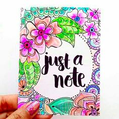 Today I am showing you How to create soft colors in your adult coloring using Tombow Blending Palette and the Colorless blender pen. Page Borders Design, Blender Pen, Bullet Journal Art, Brush Lettering, Lettering Design, Hand Type, Decorate Notebook, Flower Doodles, Card Making Inspiration