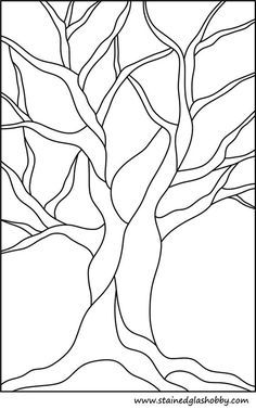 Free Printable Stained Glass Pattern - would look great on a scarf or wall hanging!