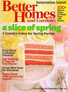 Better Homes And Gardens Press By Burnhamdesign00 On