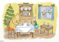 Family: 62 per cent of people said the most important element in having a good Christmas is spending time with family
