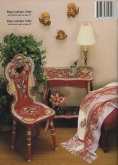 Bavarian Folk Art Furniture by artist Scottie Foster