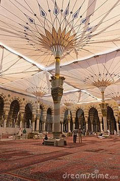Al-Masjid al-Nabawi, Medina, Saudi Arabia