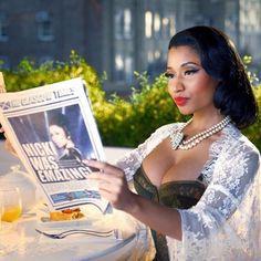 Голая Nicki Minaj фото | Обнаженная Ники Минаж | Эро-блог