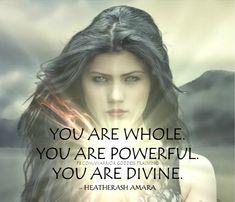 you are divine . Warrior Quotes, Prayer Warrior, Wise Women, Strong Women, Spiritual Awakening, Spiritual Quotes, Warrior Goddess Training, Divine Goddess, Mother Daughter Quotes